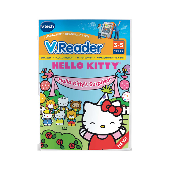 VTech Hello Kitty V Reader 2 Software Cartridge