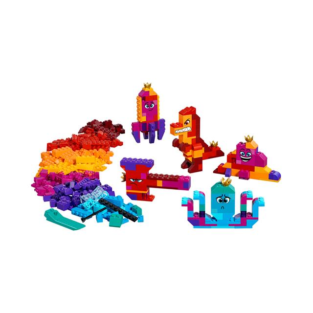 The LEGO® Movie 2™ Queen Watevra's Build Whatever Box!