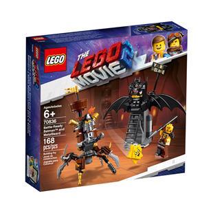 The LEGOR Movie 2TM Battle Ready BatmanTM And MetalB