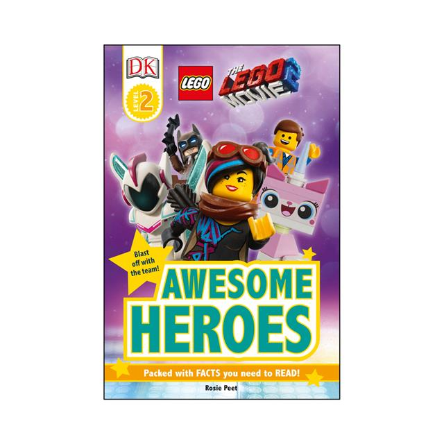 The LEGO® Movie 2™: Awesome Heroes Level 2 Reader