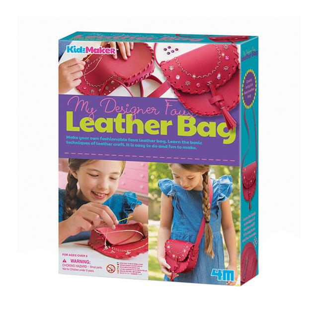 4M KidzMaker My Designer Faux Leather Bag