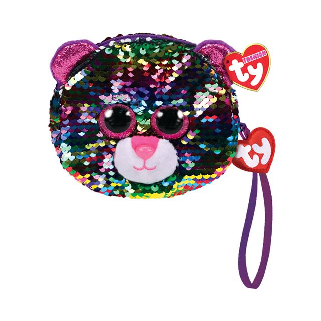 Ty Fashion Dotty the Leopard Sequin Wristlet