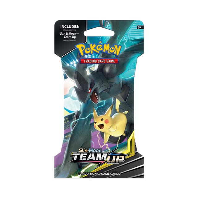 Pokémon TCG: Sun & Moon Team Up Sleeved Booster