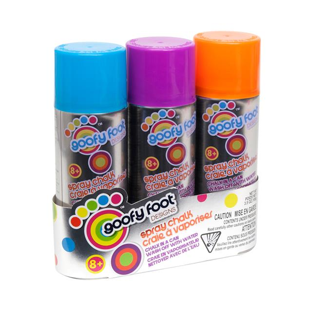 Goofy Foot Designs Spray Chalk 3 Pack