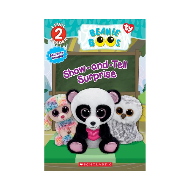 Ty Beanie Boos Show-and-Tell Surprise Level 2 Reader