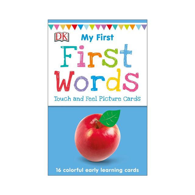 My First Words Touch and Feel Picture Cards