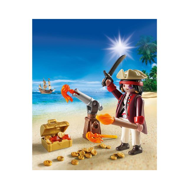 Playmobil Pirates Pirate with Cannon