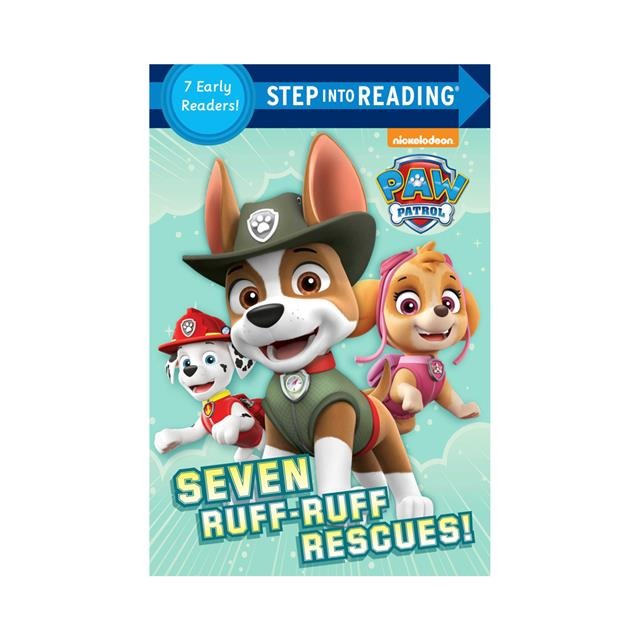 Step into Reading: PAW Patrol: Seven Ruff-Ruff Rescues! 7 Early Readers