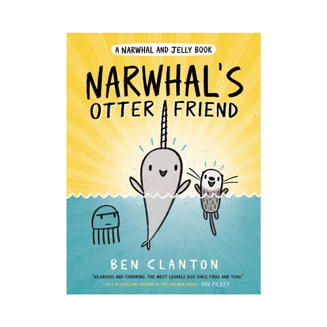 A Narwhal and Jelly Book #4: Narwhal's Otter Friend