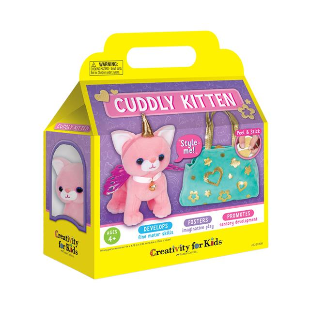 Creativity for Kids Cuddly Kitten