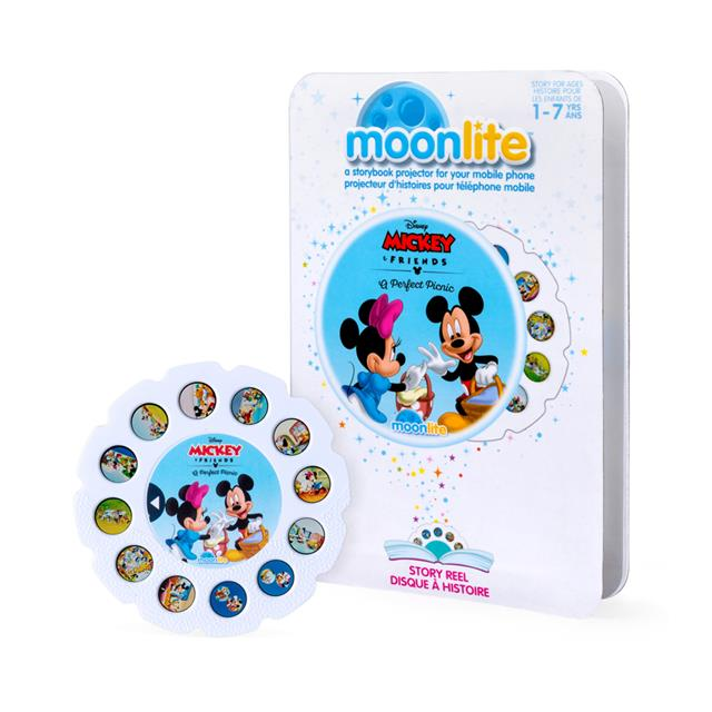 Moonlite Story Reel Mickey & Friends: A Perfect Picnic