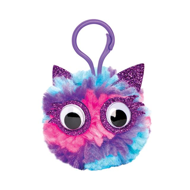 Creativity for Kids Magical Pom Pom Keychains