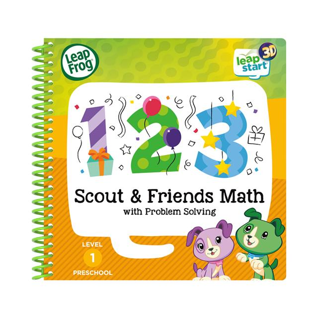 LeapFrog® LeapStart® 3D Scout & Friends Math with Problem Solving