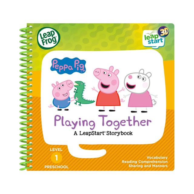 LeapFrog® LeapStart® 3D Peppa Pig™ Playing Together Storybook