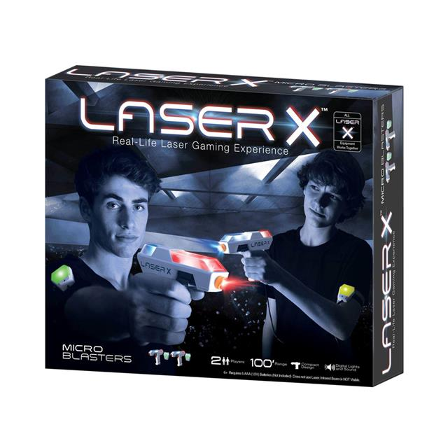 Laser X Real-Life Laser Gaming Experience Micro Blasters