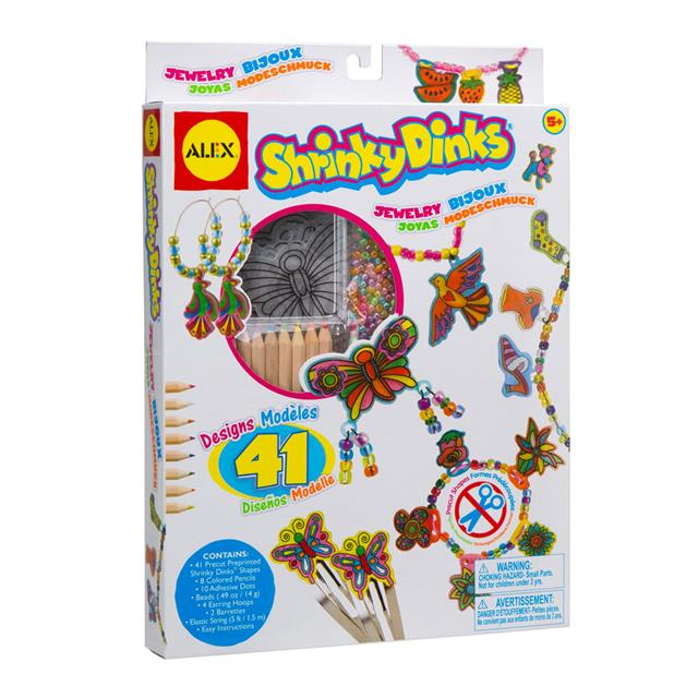 Alex Shrinky Dinks Jewelry Kit