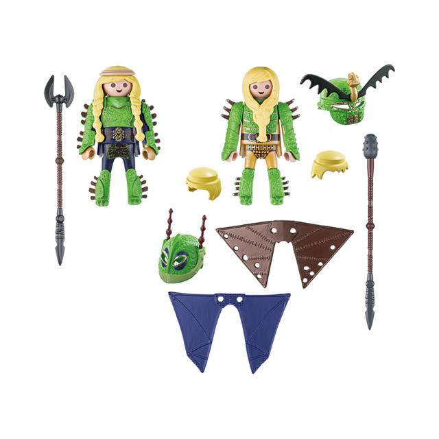 Playmobil DreamWorks Dragons Ruffnut and Tuffnut with Flight Suit