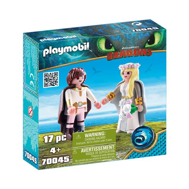 Playmobil DreamWorks Dragons Astrid and Hiccup's Wedding