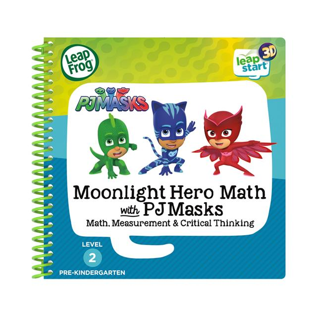 LeapFrog® LeapStart® 3D Moonlight Hero Math with PJ Masks Activity Book
