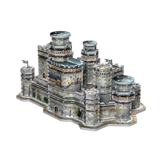 Wrebbit Game of Thrones™ Winterfell 3D Puzzle