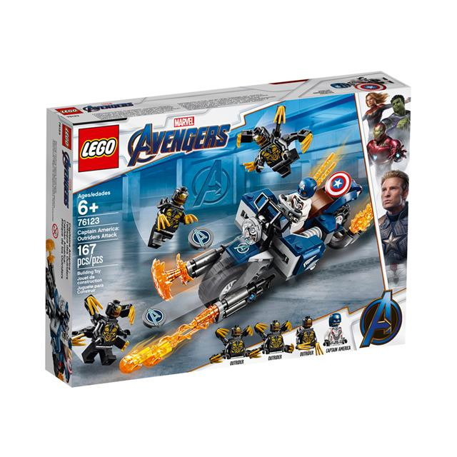 LEGO® Marvel Super Heroes Captain America: Outriders Attack
