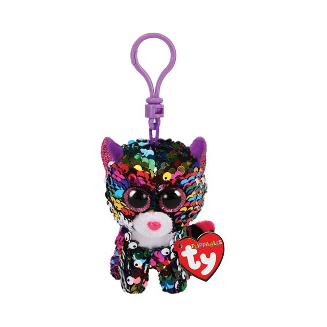 Ty Flippables Clip-On Dotty the Leopard