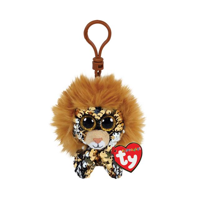 Ty Flippables Clip-On Regal the Lion