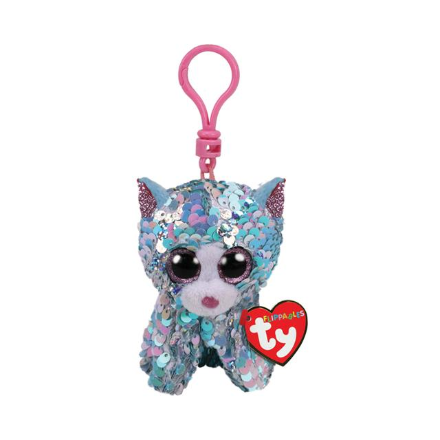 Ty Flippables Clip-On Whimsy the Cat