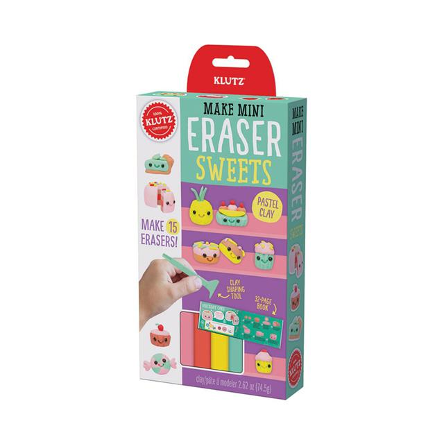 Klutz Make Mini Eraser Sweets