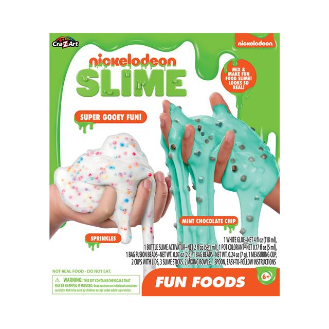 Nickelodeon Fun Food Slime Kit