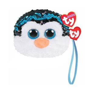 b79d2567239 Ty Fashion Waddles the Penguin Sequin Wristlet