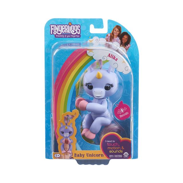 Fingerlings Alika the Purple Unicorn