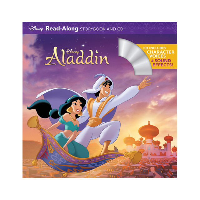 Disney Aladdin Read-Along Storybook and CD