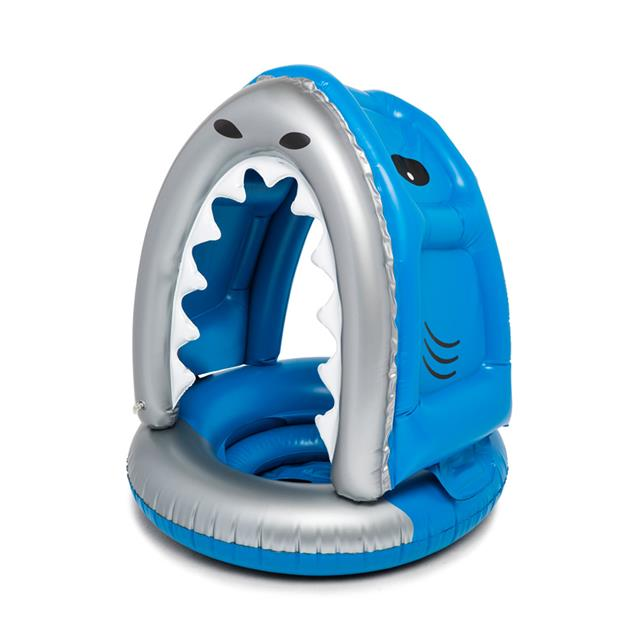 BigMouth Inc.® Nibbles the Shark Lil' Canopy Pool Float
