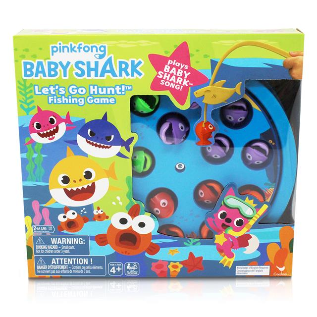 PinkFong Baby Shark Let's Go Hunt! Fishing Game