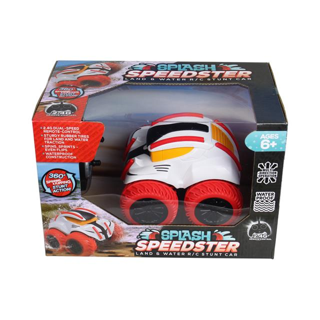 Splash Speedster Land & Water R/C Stunt Car