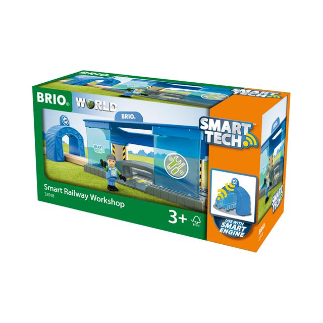 BRIO® World Smart Tech™ Railway Workshop