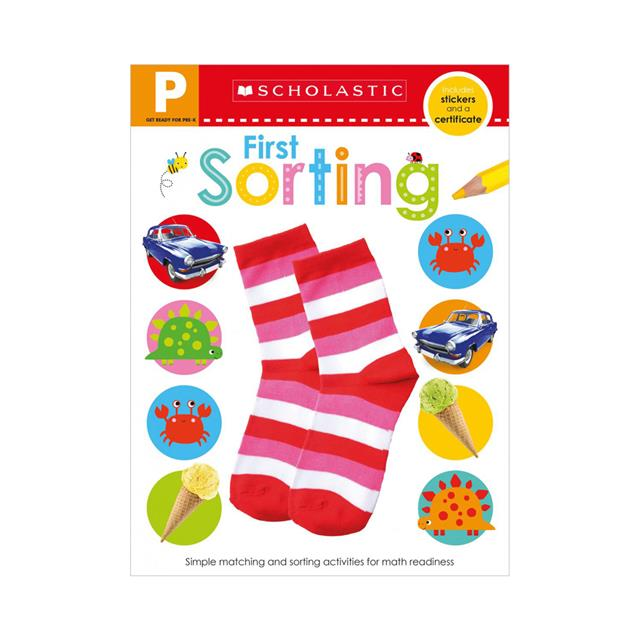 Scholastic Early Learners: Get Ready for Pre-K Skills Workbook: Sorting