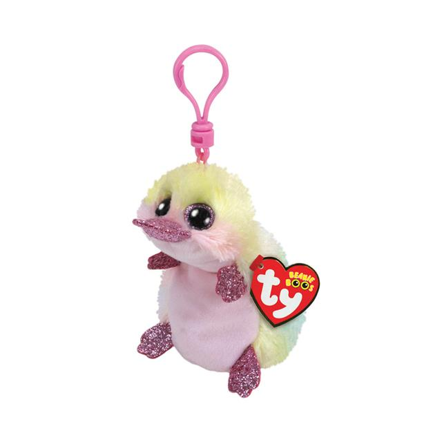 Ty Beanie Boos Clip-On Petunia the Platypus