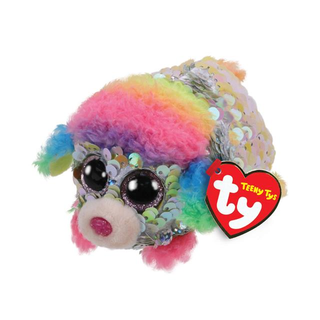 Ty Teeny Tys Rainbow the Sequin Poodle