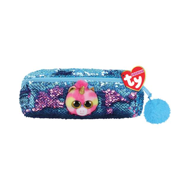 Ty Fashion Fantasia the Unicorn Sequin Pencil Bag