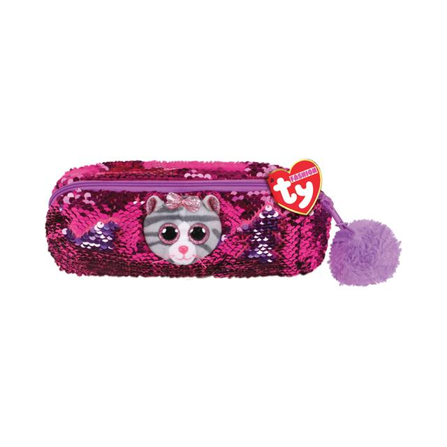 Ty Fashion Kiki the Cat Sequin Pencil Bag