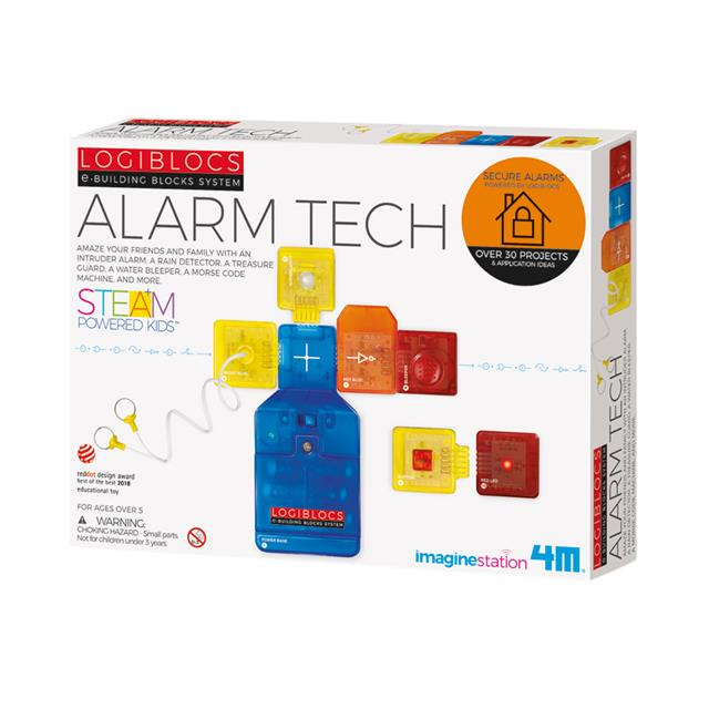 4M Logiblocs e-Building Blocks System: Alarm Tech