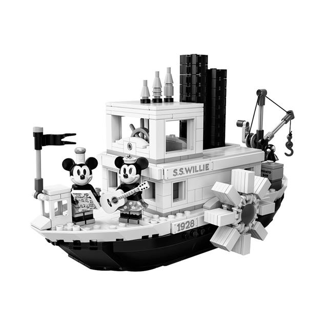 LEGO® Ideas Disney Steamboat Willie