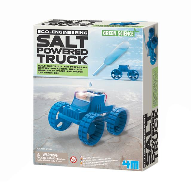 4M Green Science Eco-Engineering Salt Powered Truck
