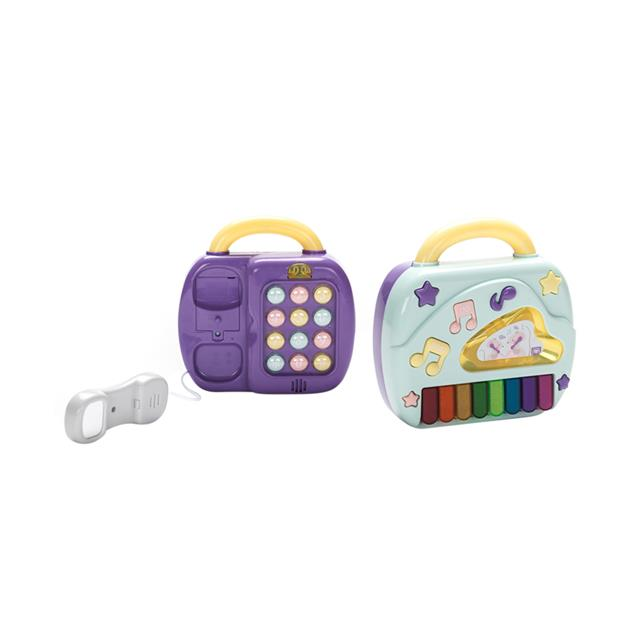 Owl Toys 2-in-1 Telephone & Piano