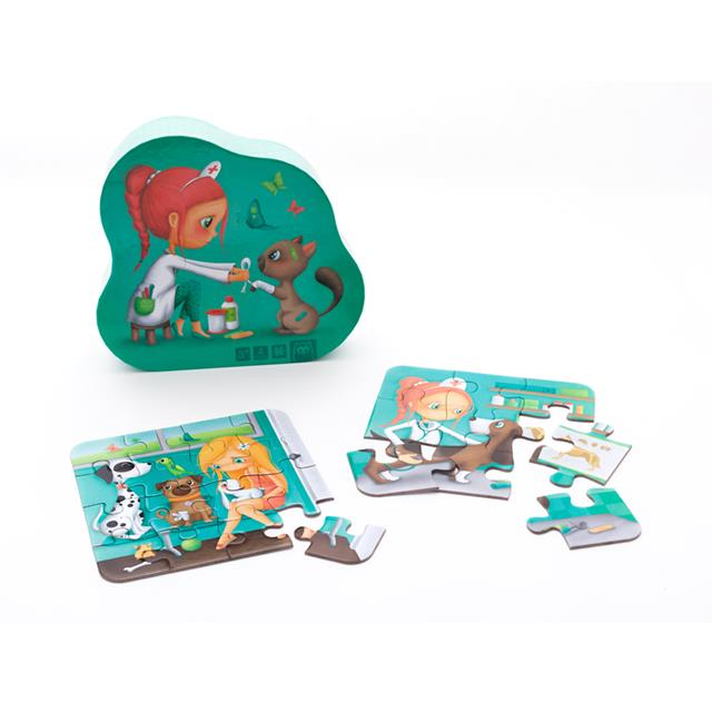 Owl Toys Veterinary 4-in-1 Evolutionary Puzzle