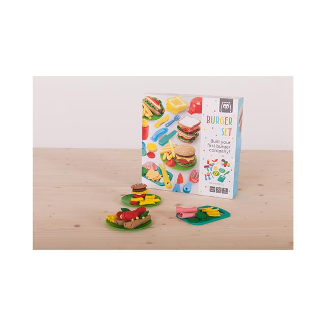 Owl Toys Burger Dough Set