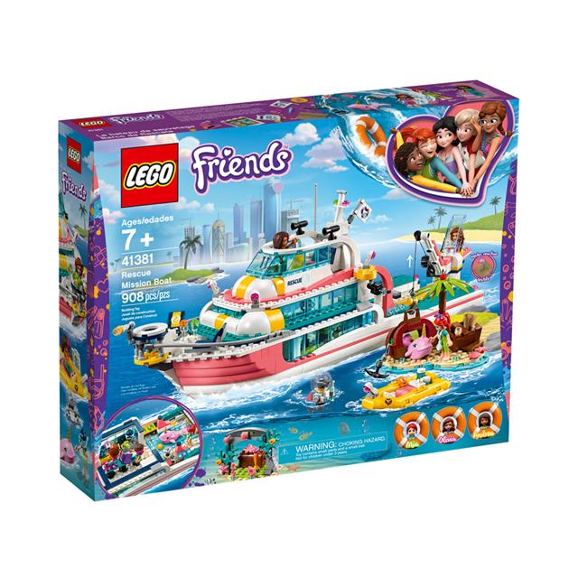 LEGO® Friends™ Rescue Mission Boat