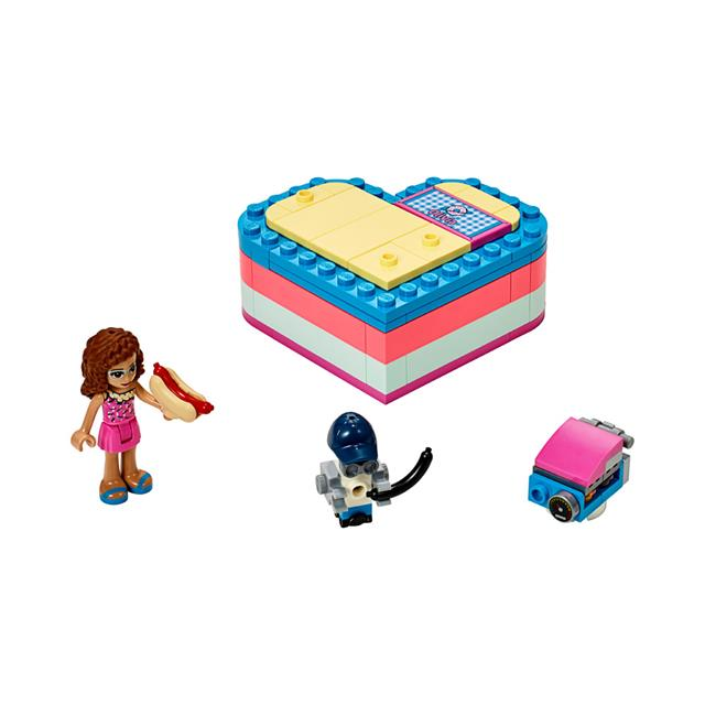 LEGO® Friends™ Olivia's Summer Heart Box
